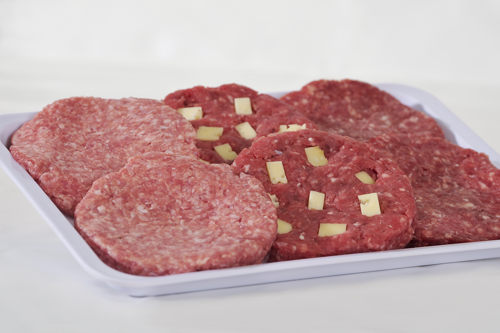 hamburger di carne assortiti