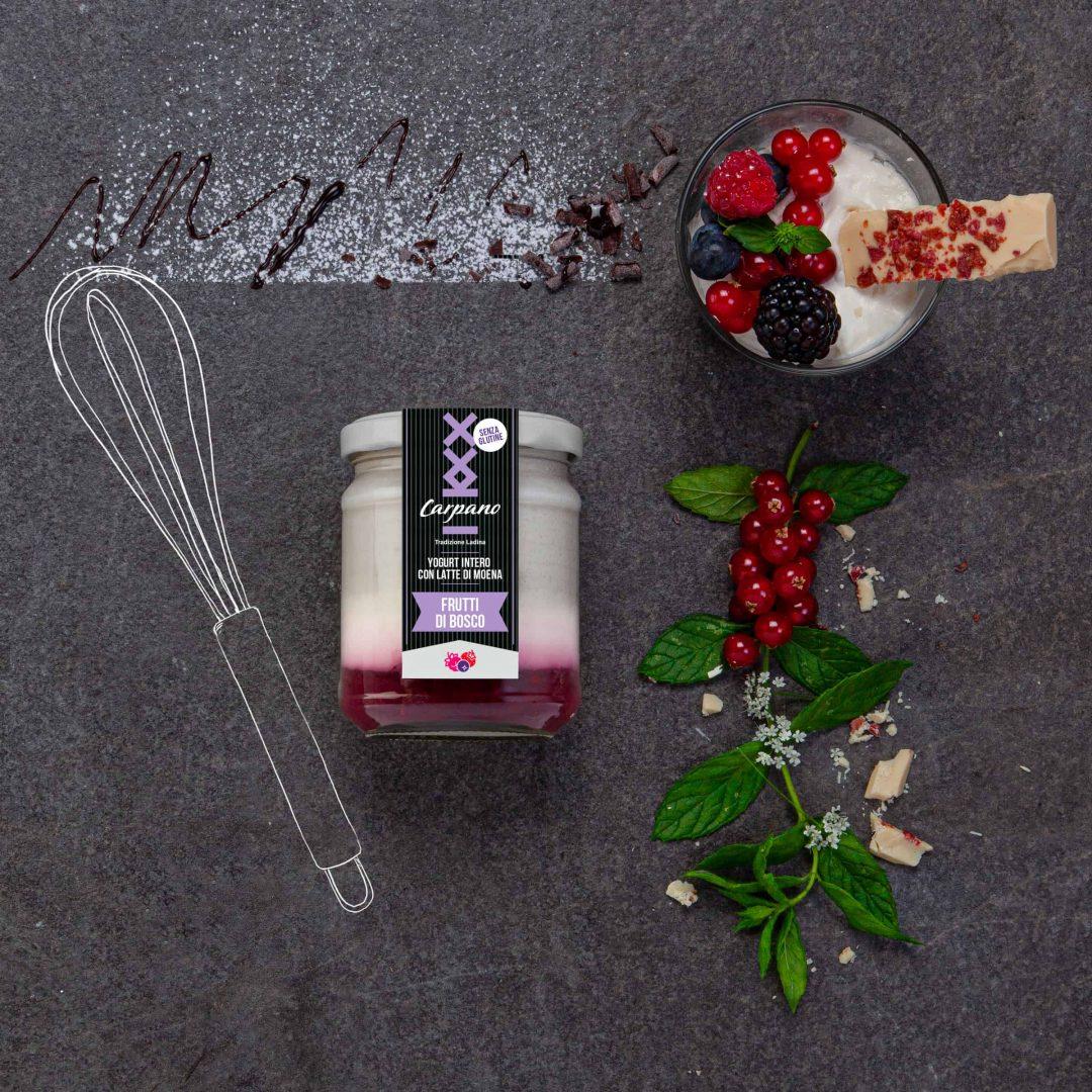Yogurt Frutti di Bosco 1