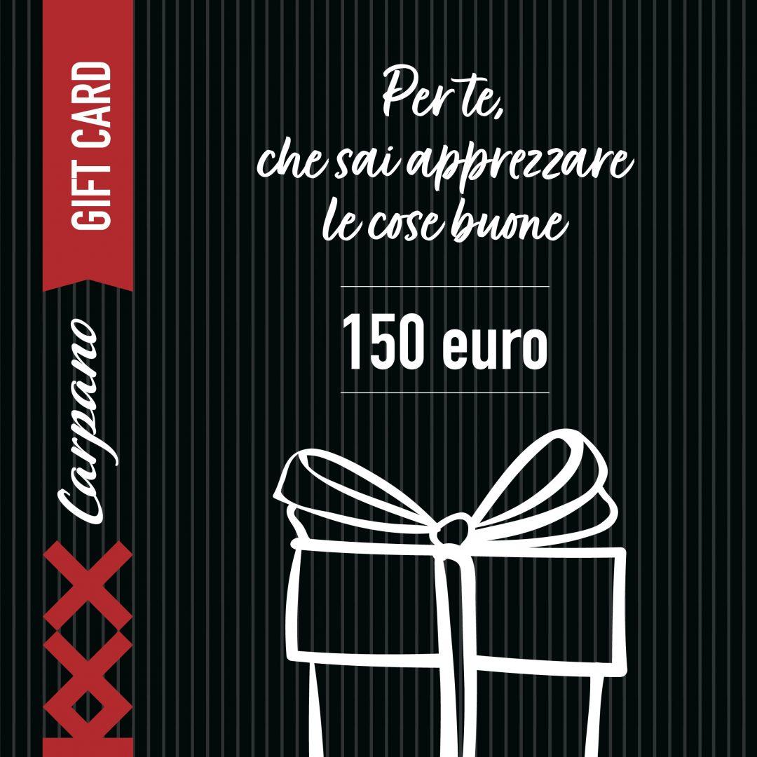Gift Card Carpano 2020 150