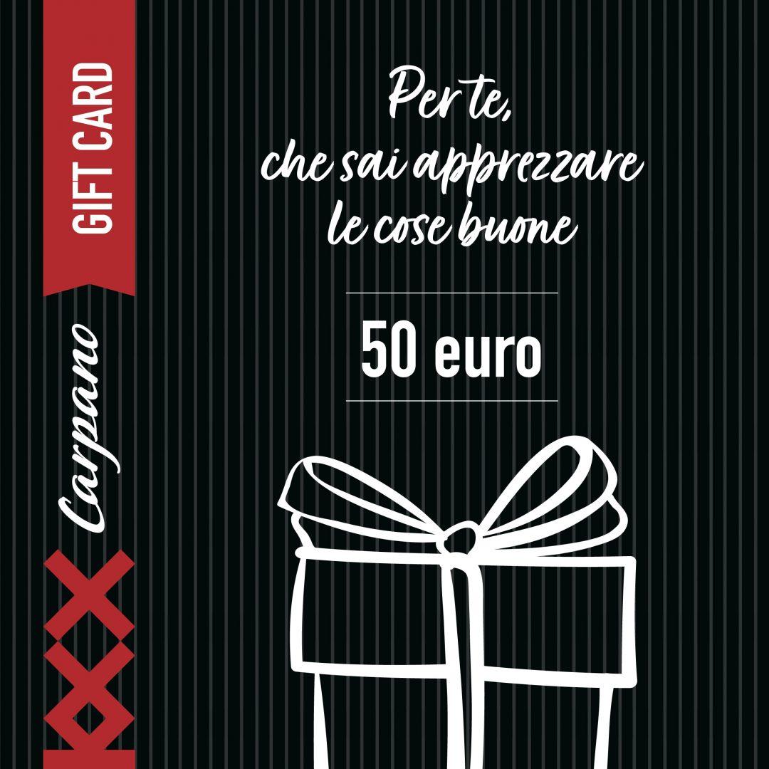 Gift Card Carpano 2020 50