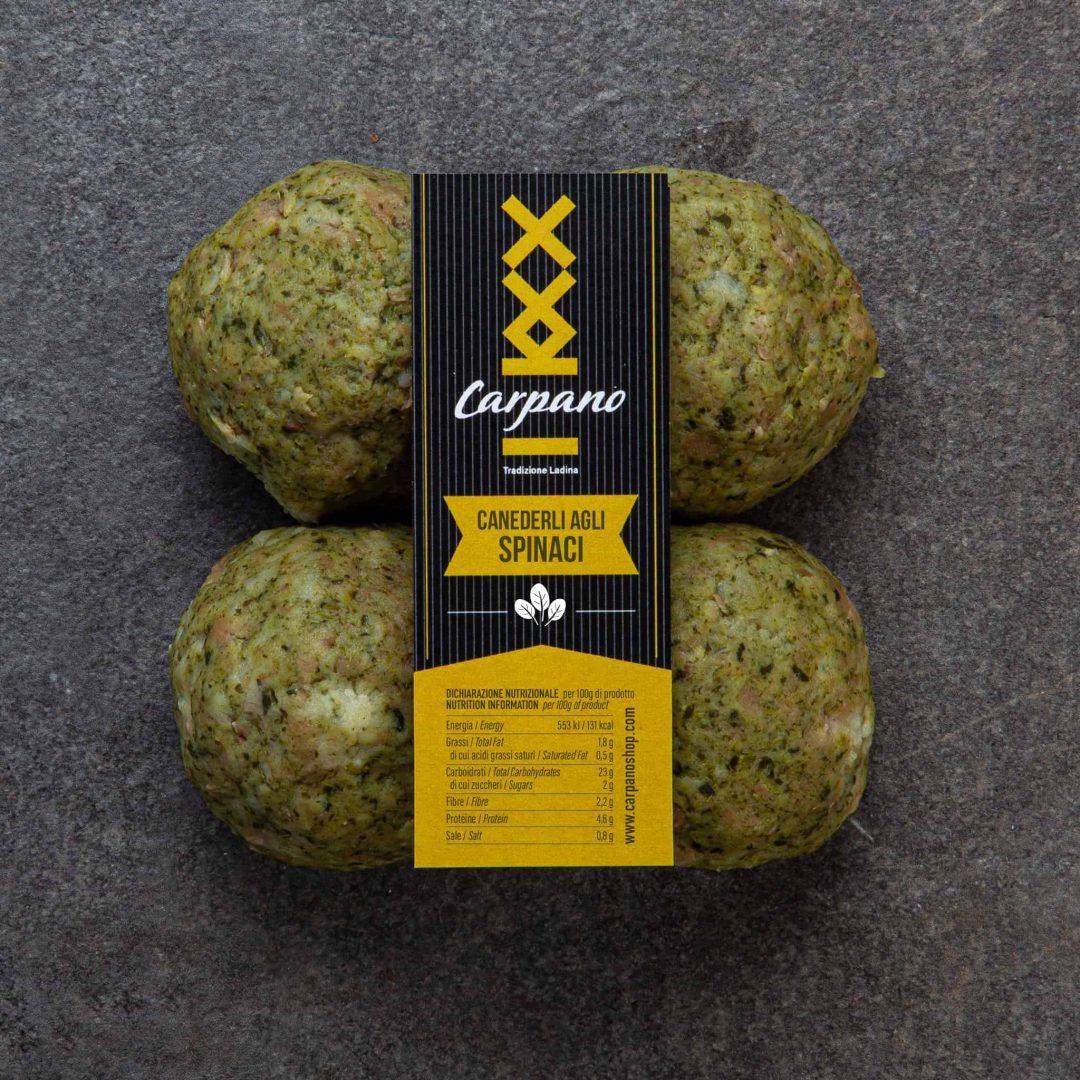 Canederli spinaci 1